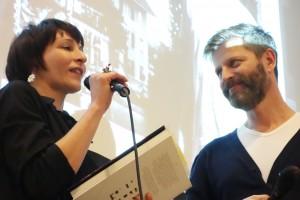 Sabine Reber und Cornel Rüegg