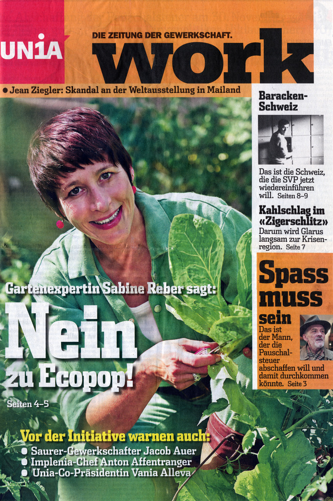 Nein zu Ecopop!