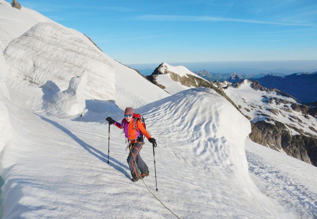 Schneeberge statt Seeländer Nebel