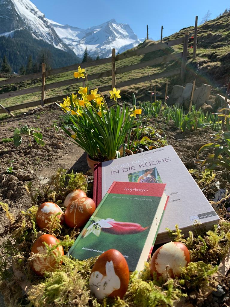 Gartenbücher statt Schoggihasen
